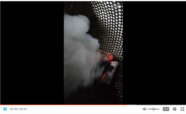滴油不起火视频