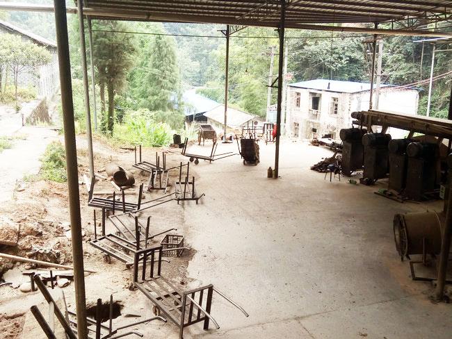 机制竹炭设备